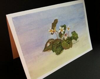 Oconee Bell flower Greeting Card