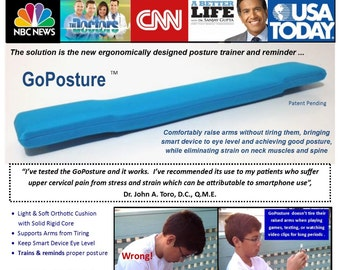 GoPosture, A Posture Training and Reminder Device