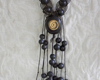 Necklace Indigenous ethnic tribe of South America Amazon river