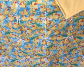 Little ducks blanket