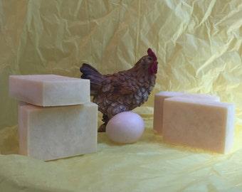All Natural: Unscented Egg Yolk Soap