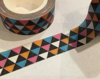 Washi Tape Triangles