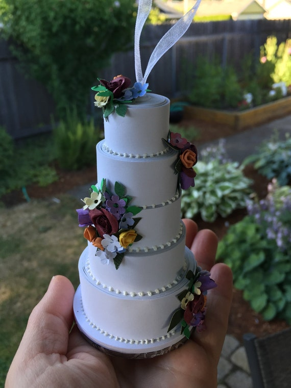 diy wedding cake decorating beautiful 5 layer cake finished project 13630