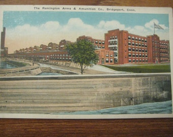 Remington Arms, Ammunition Co., Bridgeport, Conn., 1920s