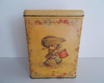 Vintage Hallmark Tin