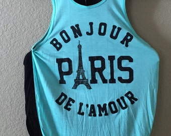 Bonjour Paris Women's Tank