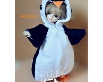 Cute Animal Pengiun outfit for 1/6 Yosd Bjd Doll Clothes