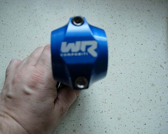 wr compositi blue carbon stem, never been used