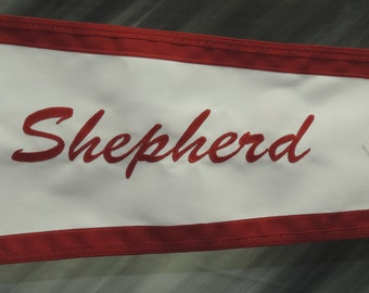 Shepherd Boat vintage burgee pennant 1946-1960