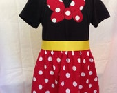 Minnie Mouse- inspired comfy t-shirt dress