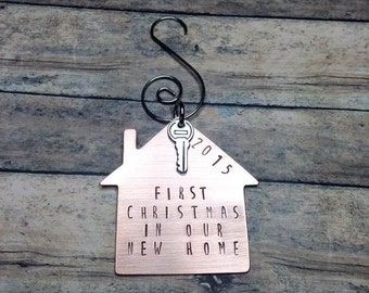 First house ornament etsy for First apartment ornament