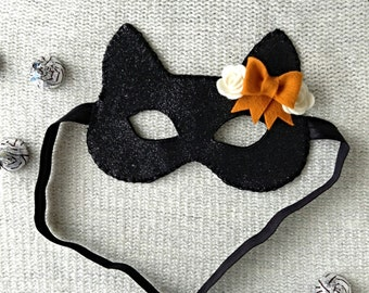 Toddler Black Cat Mask