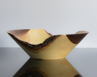 Bowl of Negundo Maple and Walnut