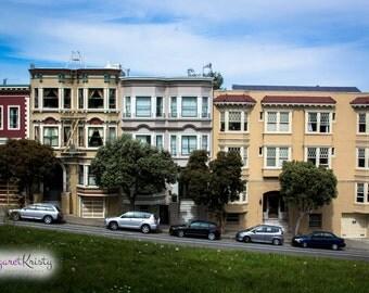 San Francisco California Victorian Architecture photography
