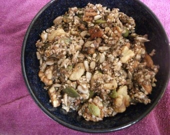 Paleo Superfood Granola, gluten free, grain free,organic