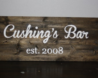 Customized Established sign