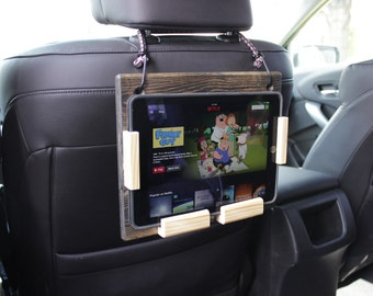 iPad Headrest Mount for Family Road Trips
