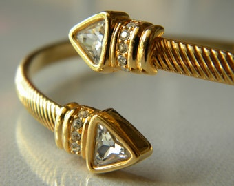 Excellent Swarovski Wrap Bracelet Clear S.A.L. Crystals