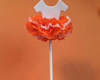 Tutu Cupcake Toppers, University of Tennessee