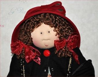 """Little Souls Doll, Little Souls Swanky, Little Souls Tabatha 24"""", Gretchen Wilson, Cloth Dolls, One-Of-A-Kind, Dolly Mama, Ooak"""