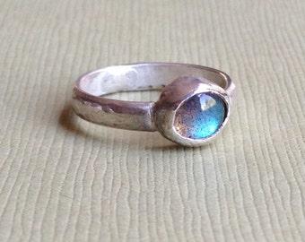 Labradorite Stacker/Midi ring