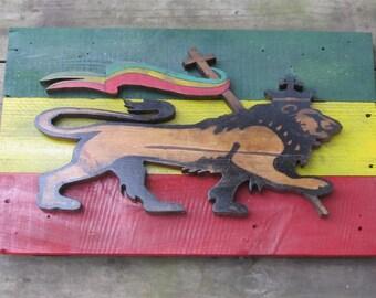 Rustic Lion Of Judah wall art