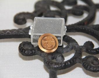Metal Miniature plate, Rip Van Winkle, 1979