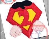 HERO HANDS Applique Numbers For Machine Embroidery- Instant download