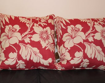 Flower tapestry fabric pillows
