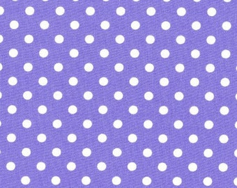 David Textiles - Polka Dots - Purple  EESCRC4270-3
