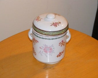 Tea Caddy Designed and Hand Painted in Macau