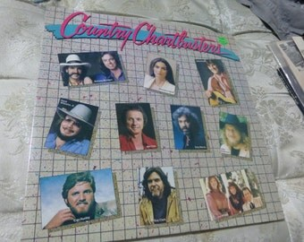 NEW SEALED. Country Chartbusters. Vinyl Record Album.