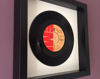 "Queen ""Crazy Little Thing Called Love"" - Framed Vinyl Gift"