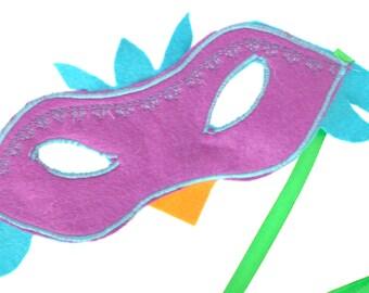 Waldorf Bird Mask, Eco Pretend Play