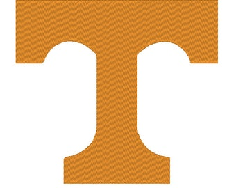 Tennessee Volunteers Vols Embroidery and Applique Design.  3 Hoop Sizes