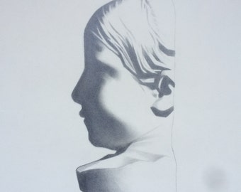 Little Girl - Bargue Drawing