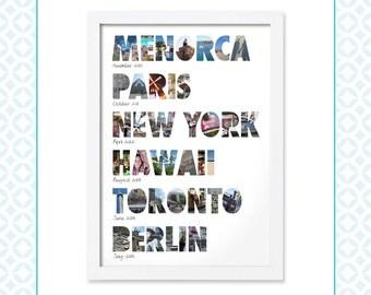 Travel Memory Montage - Around the world - Holiday photos