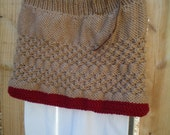 KNITTING Pattern  Fall Berries Capelet
