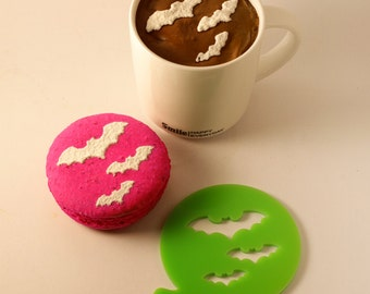 Halloween Stencil, Coffee Stencil, Cookie Stencil, Custom Stencil