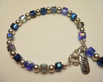 Cubed Love Bracelet