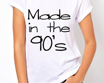Made in the 90's tees!