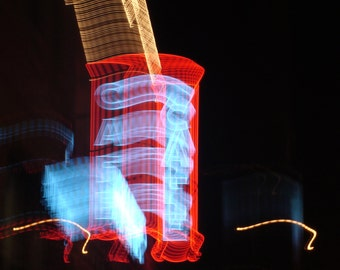 abstract city light photograph