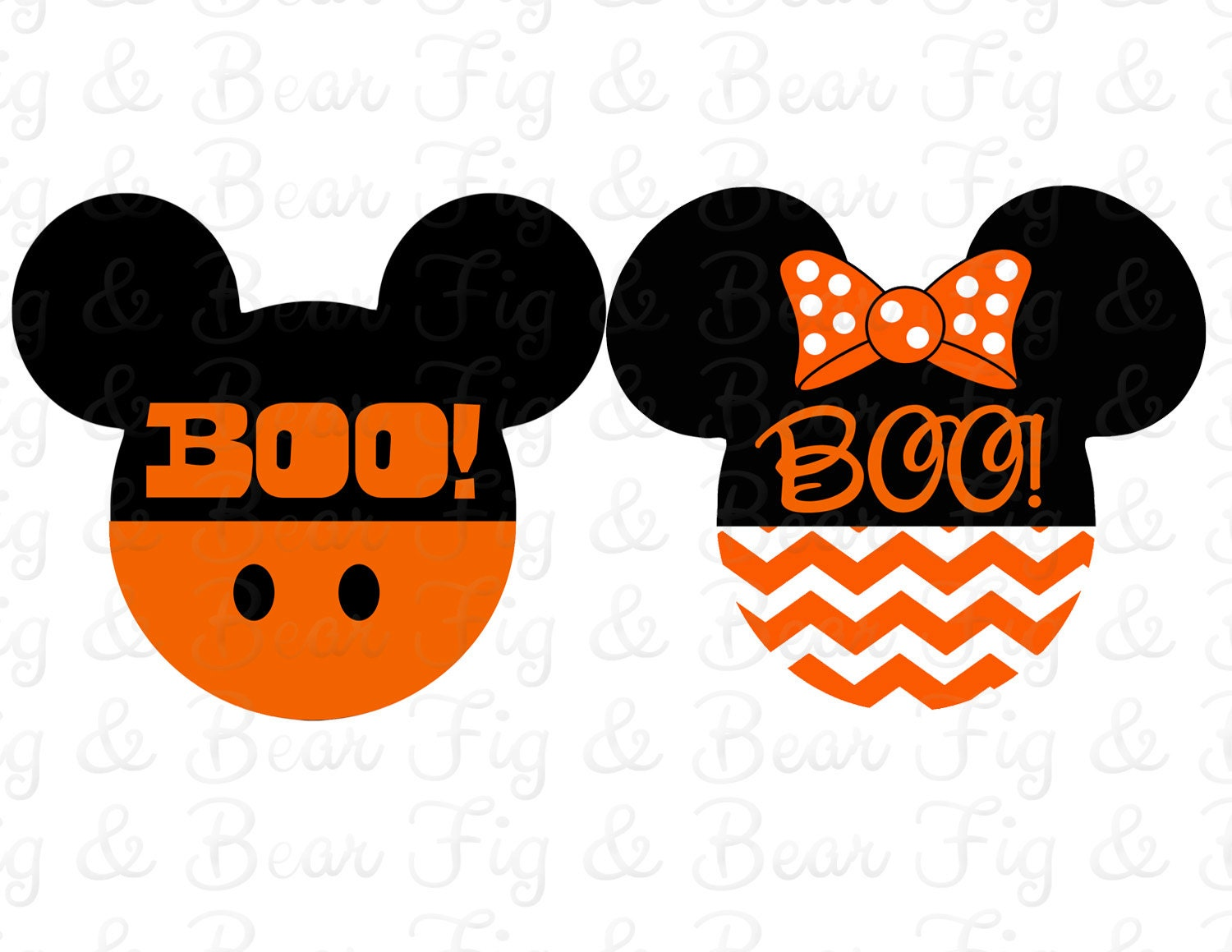 Design your own t-shirt iron on transfer -  Shirts Halloween Iron On Transfers Mickey Mouse And Minnie Mouse Personalized Free Zoom
