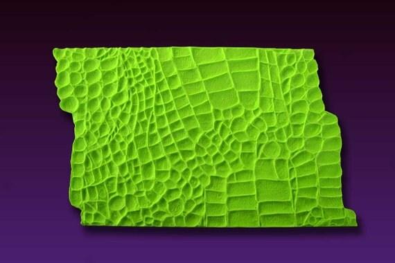 Alligator Crocodile Skin Texture Mat For Fondant