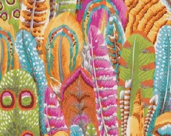 Feathers by Phillip Jacobs, The Kaffe Fassett Collective for Rowan Westminster Fabric PWPJ055