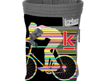 Retro Bike Chalkbag Climbing