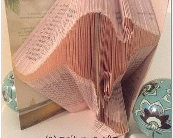 Book folding pattern Kangaroo