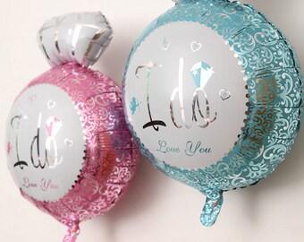 ON SALE!!! Diamond Ring Foil Aluminum Balloon