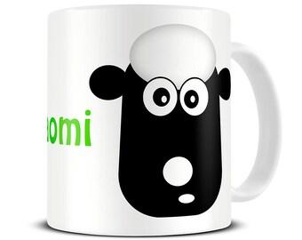 Personalised Sheep Mug Coffee Mug - sheep gifts - personalized mug for mom - MG089