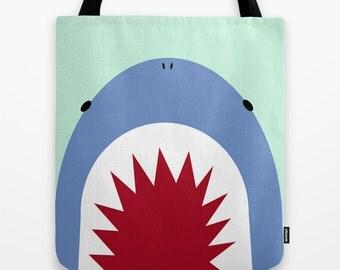 Shark Tote Bag / shark Bag / shark Tote Bag